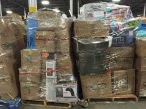 Shipping liquidation pallets is tricky